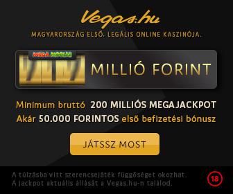 Vegas.hu Online kaszinó magyaroknak!