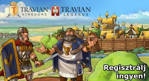 Regisztrálj ingyen a Travian online stratégiai játékba!