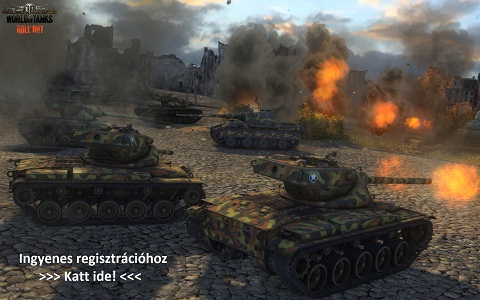 Regisztrálj ingyen, a Word of Tanks online MMO tankos játékra